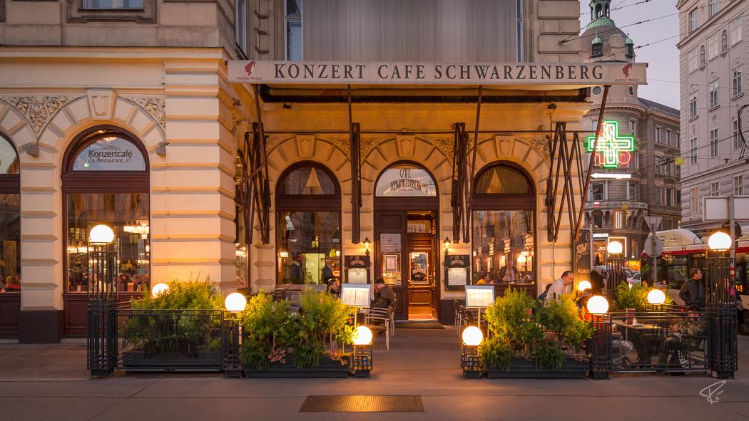 Vienna Coffee Houses Kaffeehaus Cafe Schwarzenberg