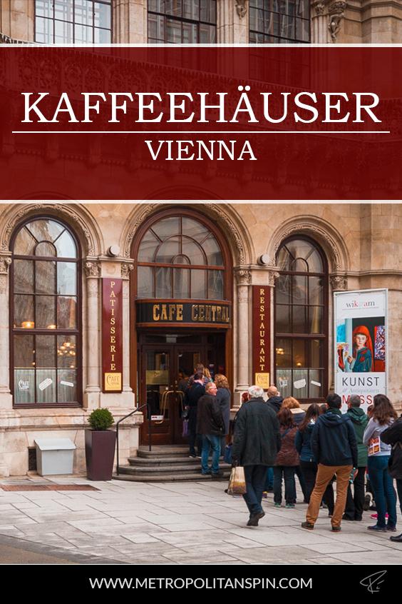 Vienna Kaffeehaus Pinterest Cover