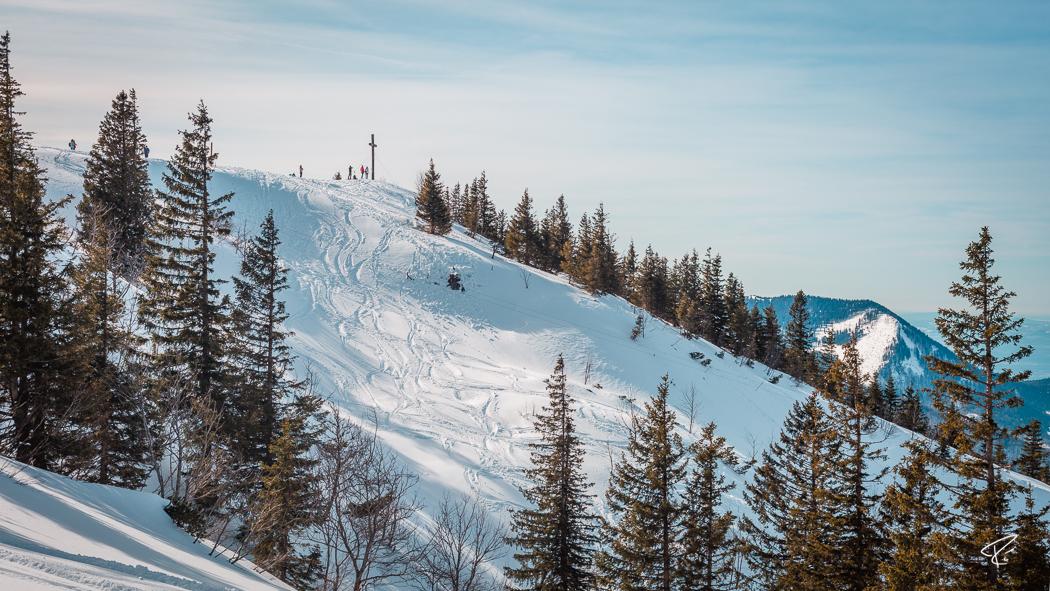 Kampenwand Chiemgauer Alpen Winter