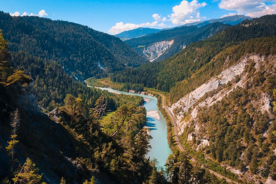 Switzerland Bonaduz Graubünden