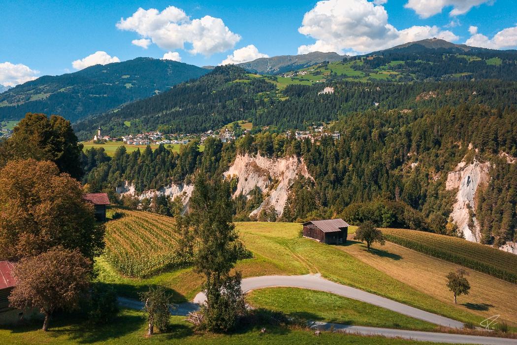 Switzerland Valendas Graubünden