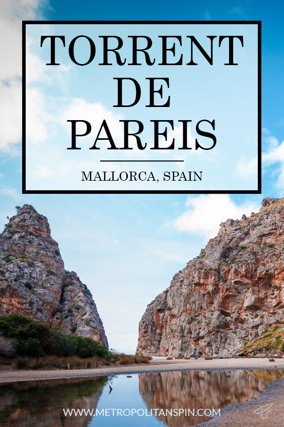 Mallorca Torrent de Pareis Cover Pinterest
