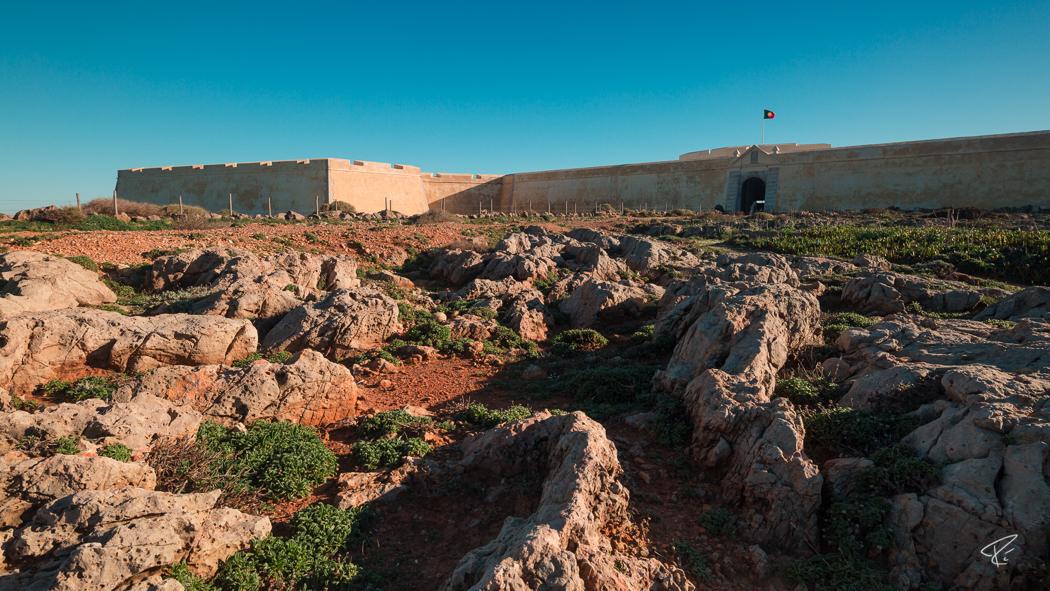 Algarve Portugal Fortaleza De Sagres fortress Festung