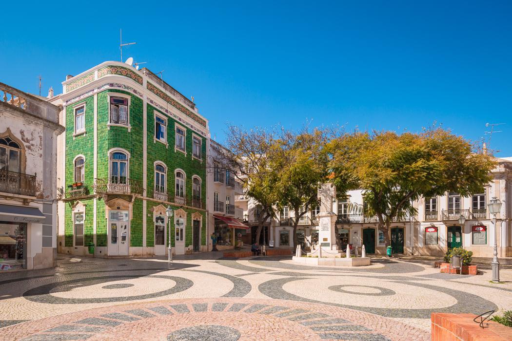 Algarve Portugal Lagos green house grünes Haus