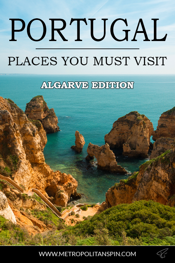 Algarve Portugal Pinterest Cover