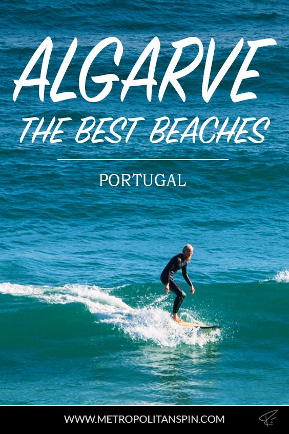 Algarve Portugal Beaches Pinterest Cover