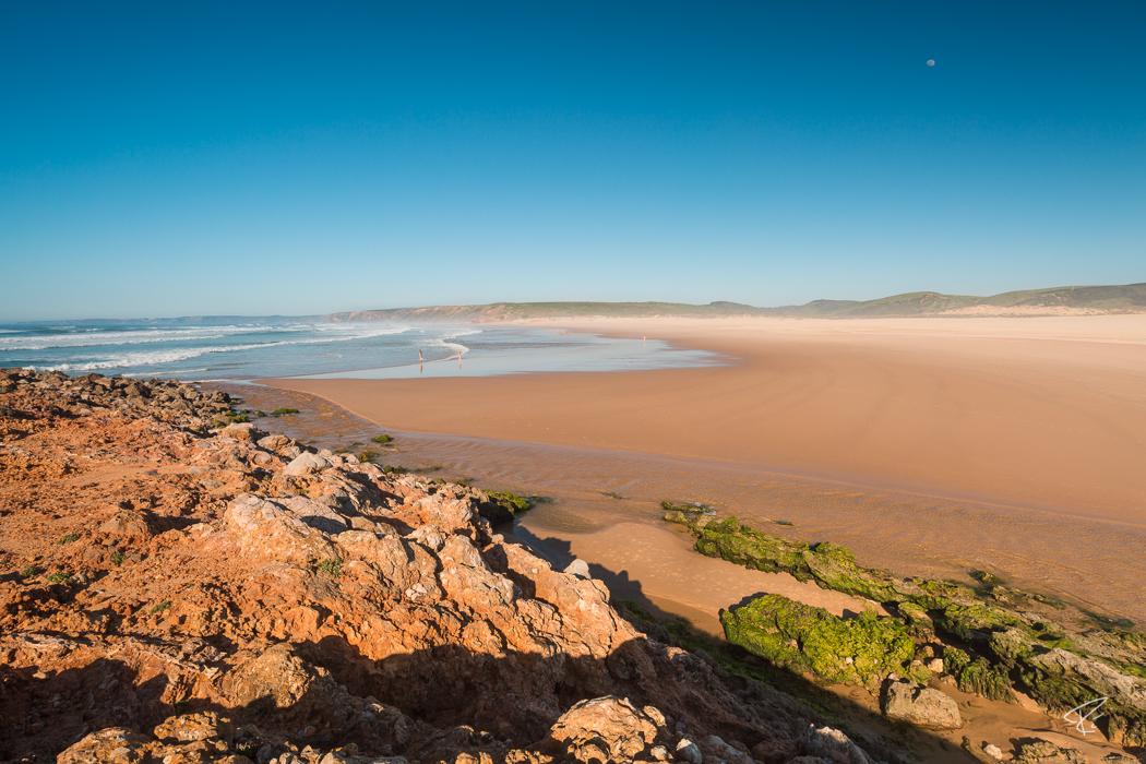 Algarve Portugal Praia da Bordeira beach Strand
