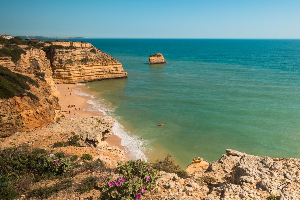Algarve Portugal Praia da Marinha beach Strand