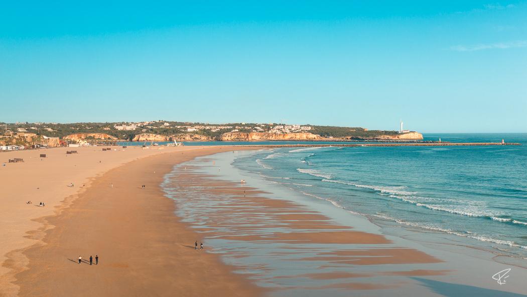 Algarve Portugal Praia da Rocha beach Strand Portimao