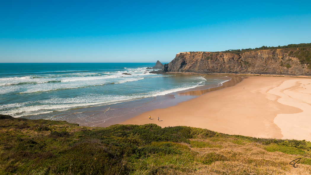 Algarve Portugal Praia de Odeceixe beach Strand