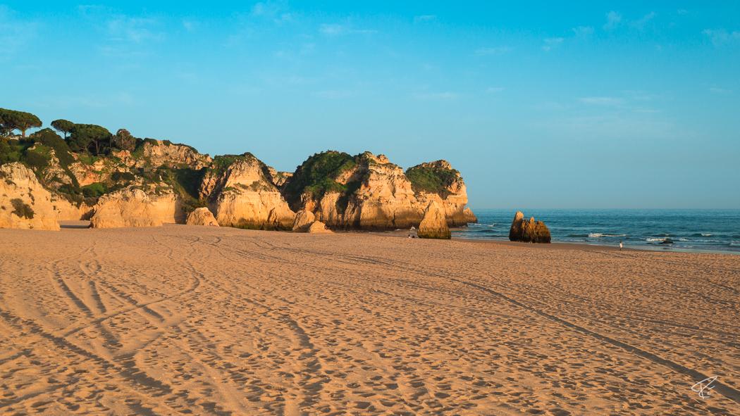 Algarve Portugal Praia do Alvor Nascente beach Strand