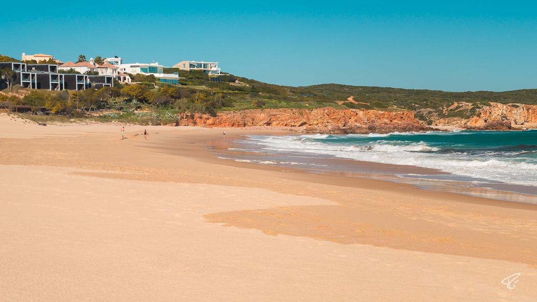 Algarve Portugal Praia do Martinhal beach Strand surfing