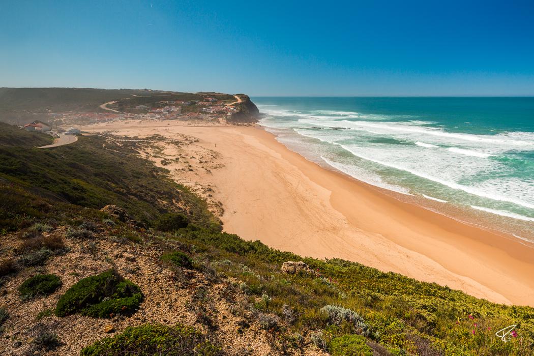 Algarve Portugal Praia do Monte Clérigo beach Strand