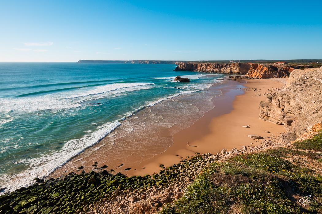 Algarve Portugal Praia do Tonel beach Strand surfing