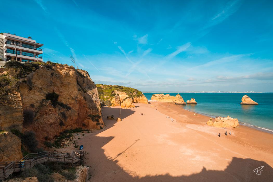 Algarve Portugal Praia Dona Ana beach Strand Lagos