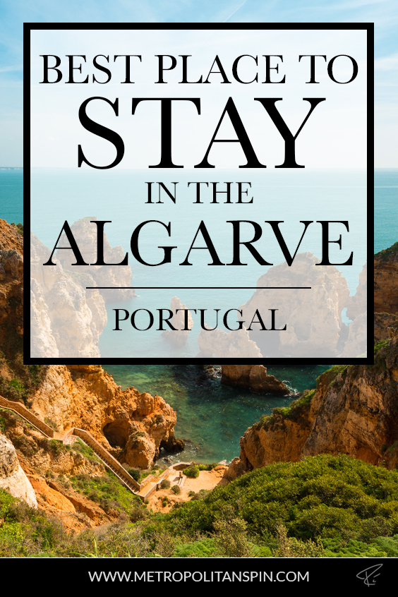 Algarve Portugal Stay Pinterest Cover