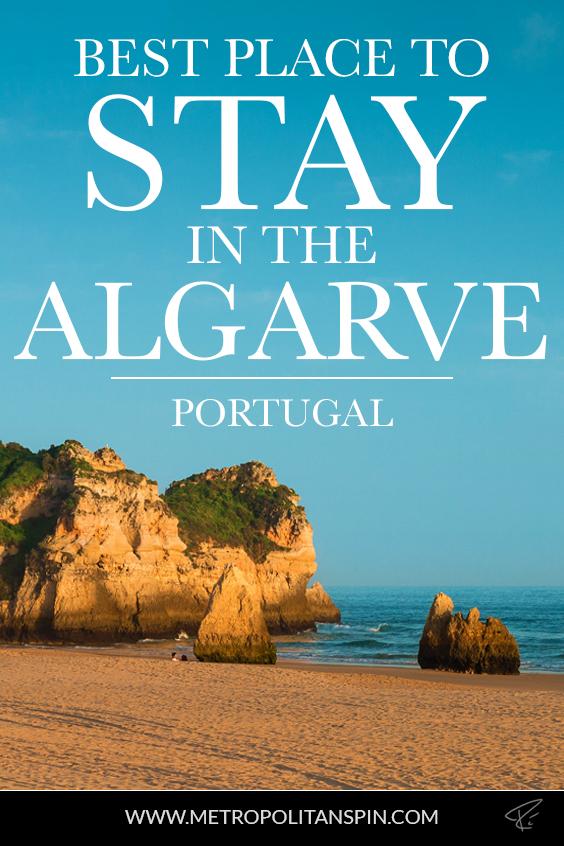 Algarve Portugal Stay Pinterest Cover