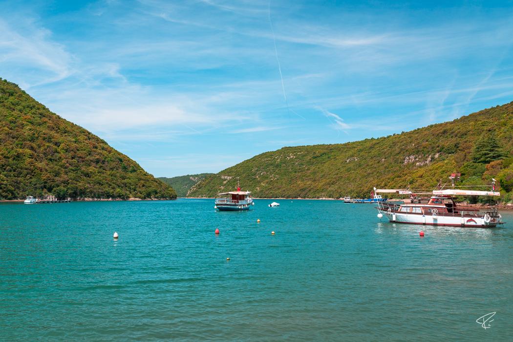 Limfjord Limski Kanal Lim canal Istria Croatia