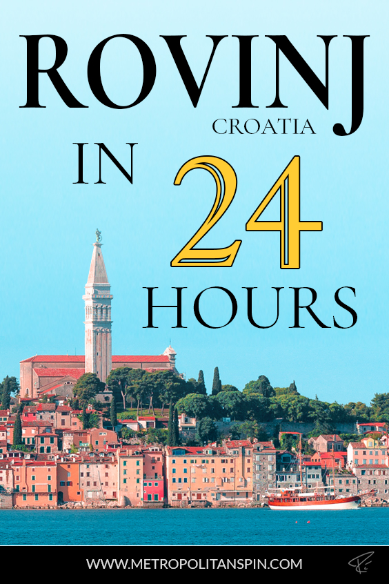 Rovinj Croatia Pinterest Cover