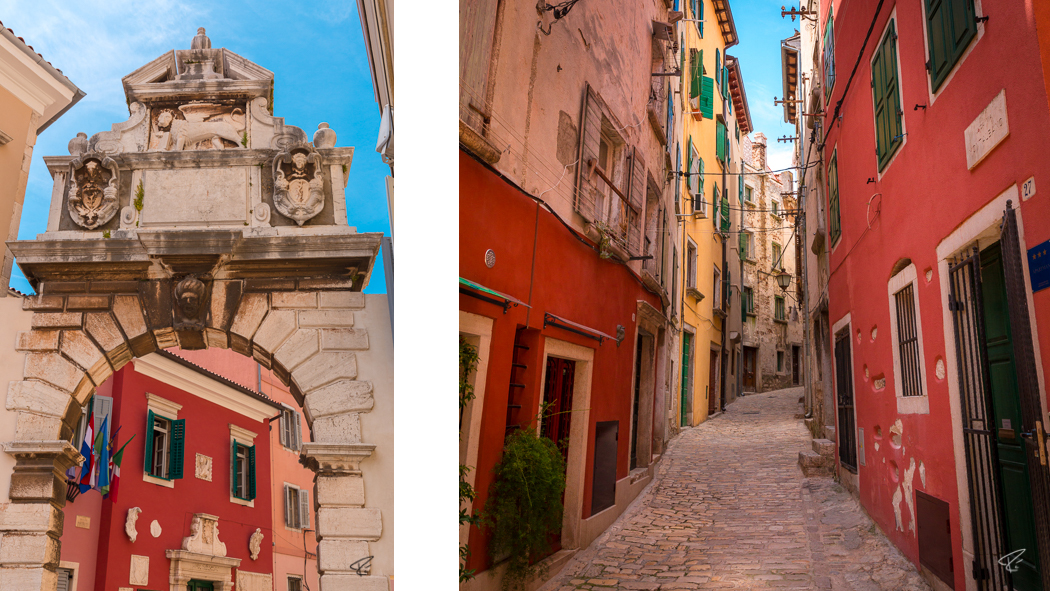 Rovinj Istria Croatia Porta Balbi