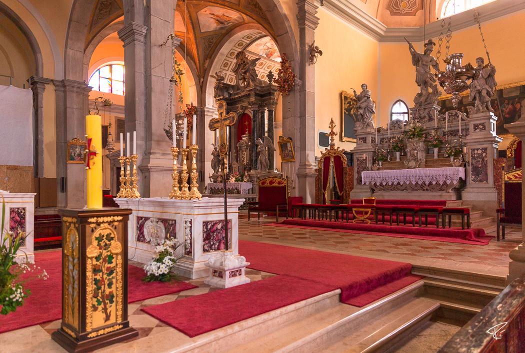 Rovinj Istria Croatia Kirche Saint Euphemia Church