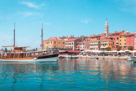 Rovinj Istria Croatia Hafen harbor port boats