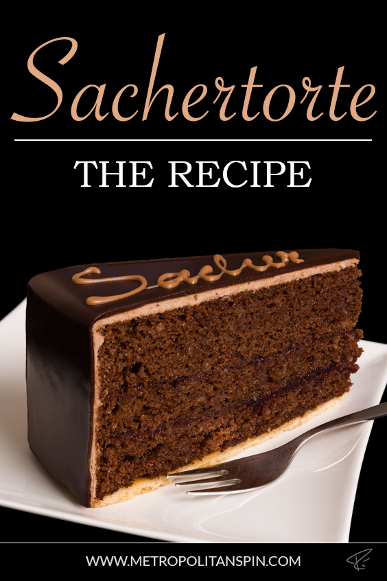 Sachertorte Pinterest Cover