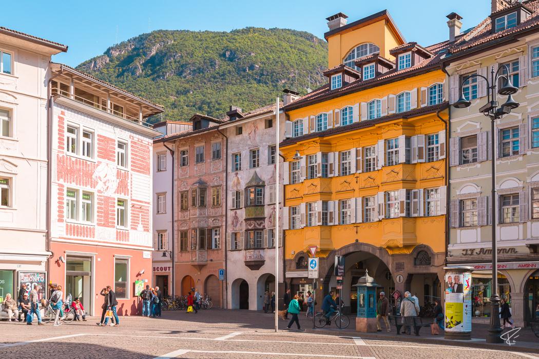 Bolzano Bozen South Tyrol Italy Rathausplatz Piazza Municipio