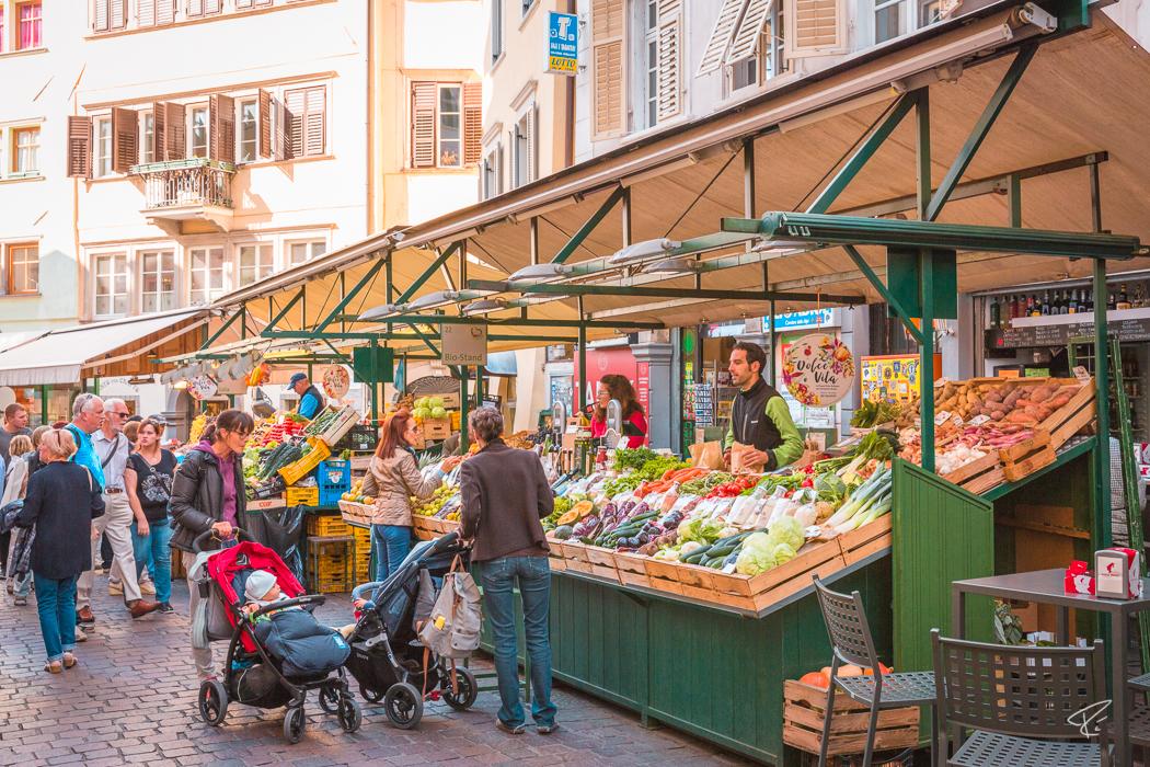 Bolzano Bozen South Tyrol Italy Obstmarkt Piazza Erbe