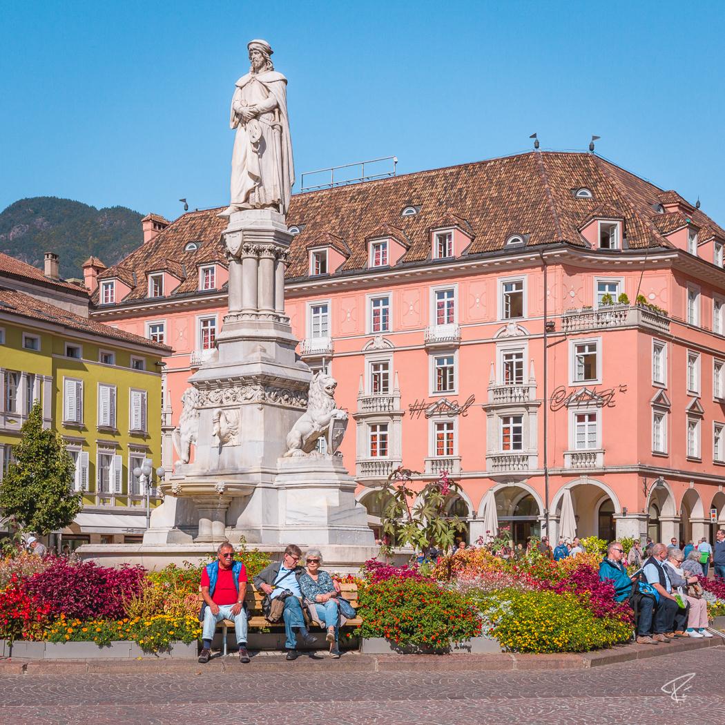 Bolzano Bozen South Tyrol Italy Waltherplatz Piazza Walther
