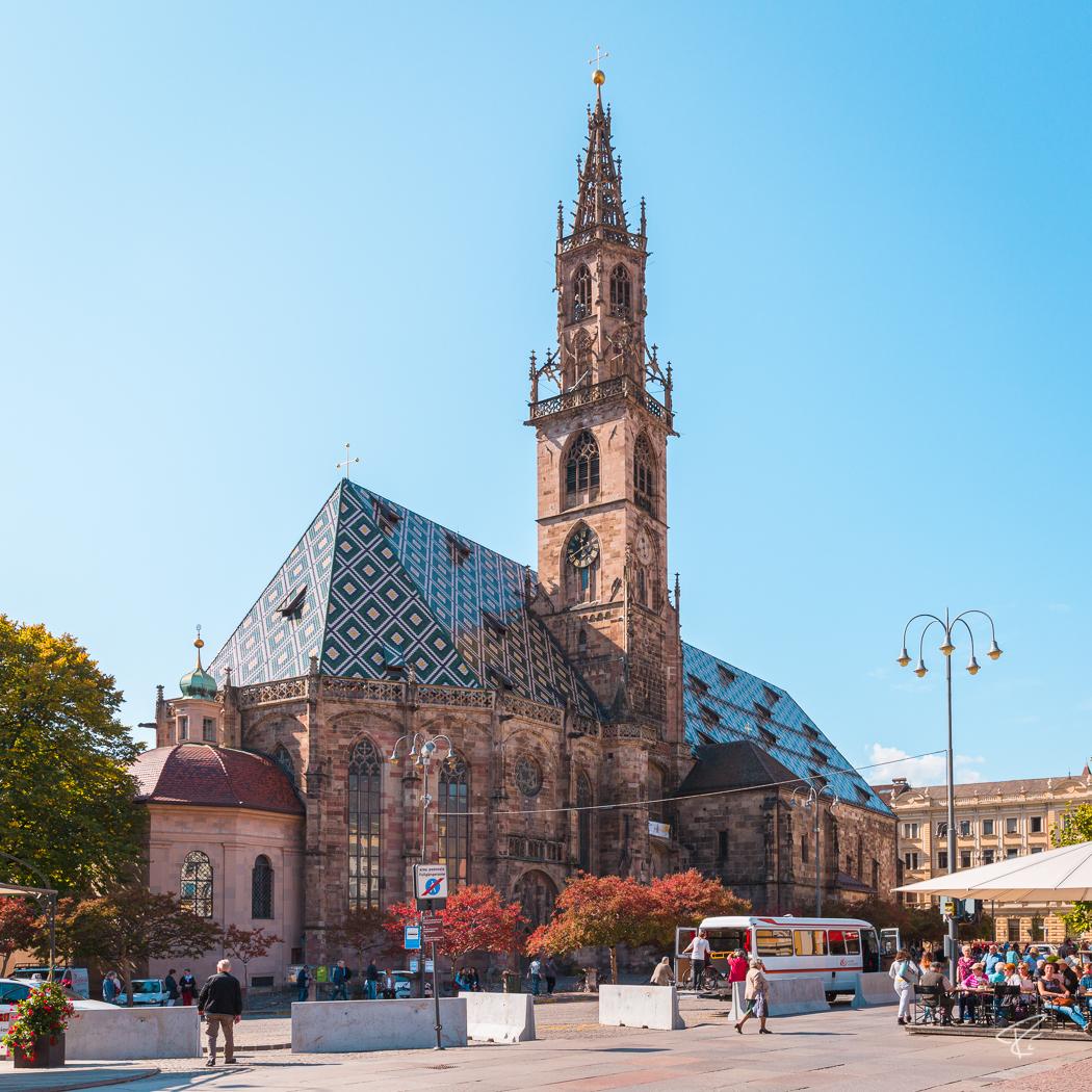 Bolzano Bozen South Tyrol Italy Dom Duomo cathedral