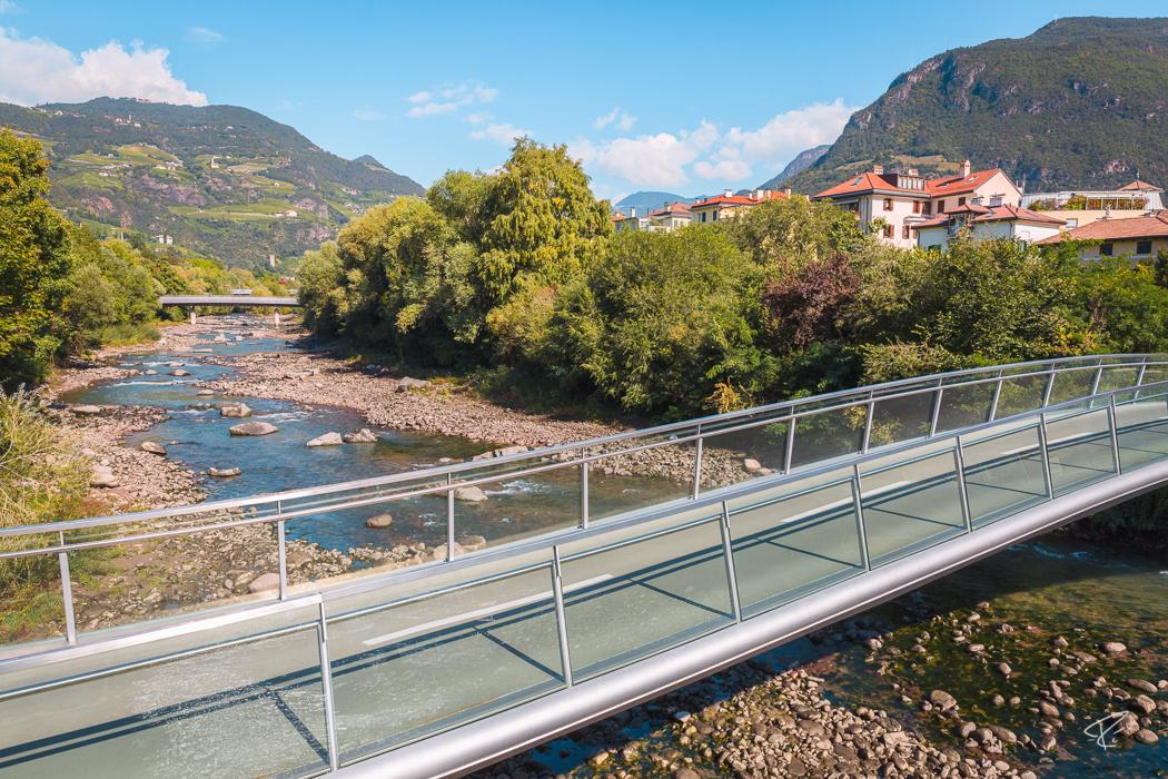 Bolzano Bozen South Tyrol Italy Talfer Talvera river