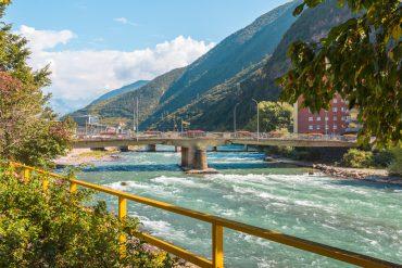 Bolzano Bozen South Tyrol Italy Eisack Isarco river