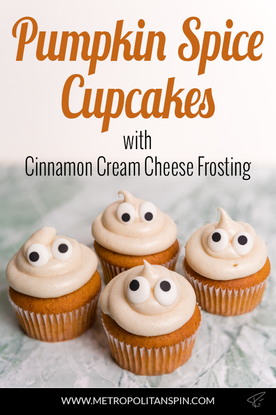Pumpkin Spice Cupcakes Pinterest Cover