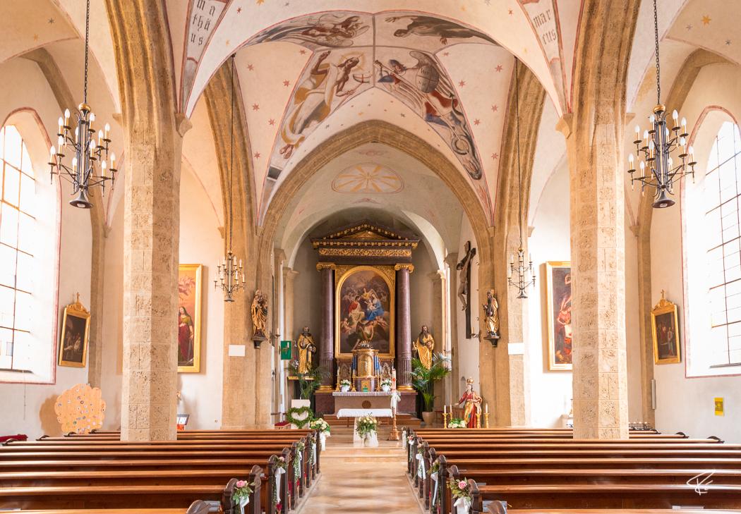 Kufstein Vitus Kirche church Tyrol Austria
