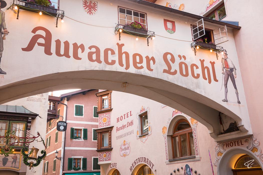 Kufstein Römerhofgasse Tyrol Austria