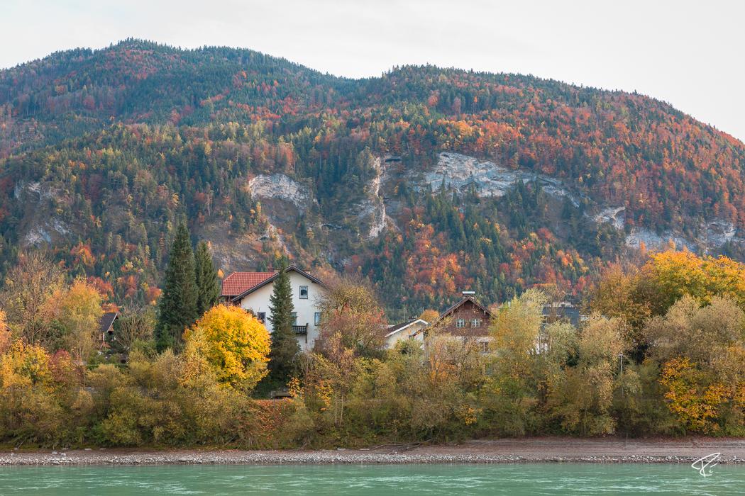 Kufstein Innpromenade Tyrol Austria