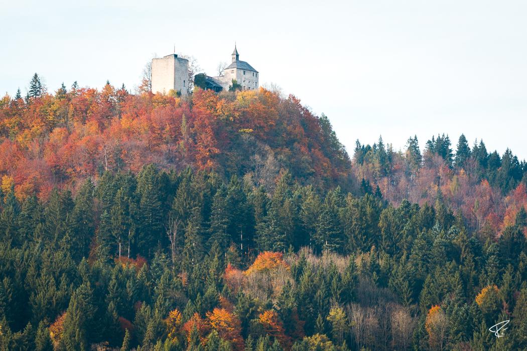 Kufstein Ruine Thierberg Tyrol Austria