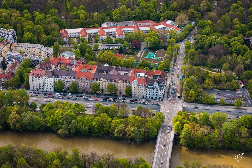 München Luftbild Munich aerial photo