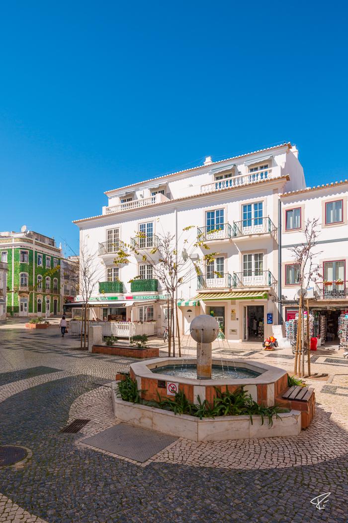 Lagos Algarve Portugal historical center Altstadt