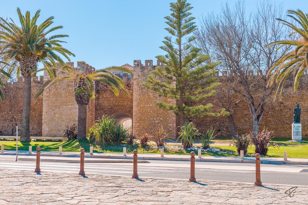 Lagos Algarve Portugal Castelo dos Governadores castle Burg