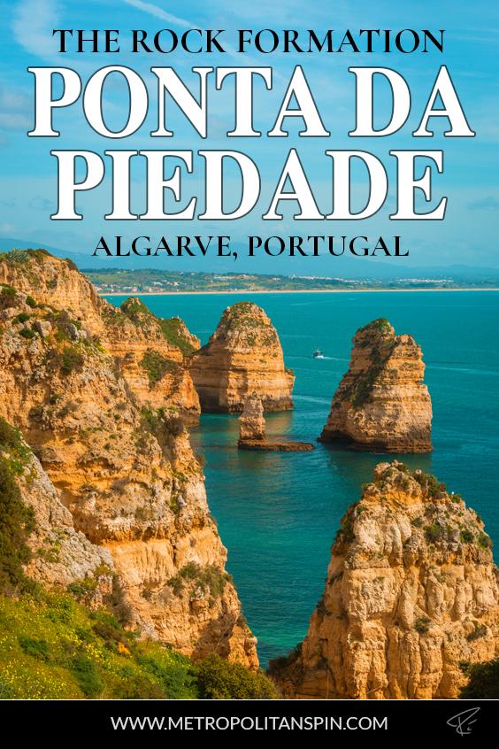 Ponta Da Piedade Portugal Pinterest Cover
