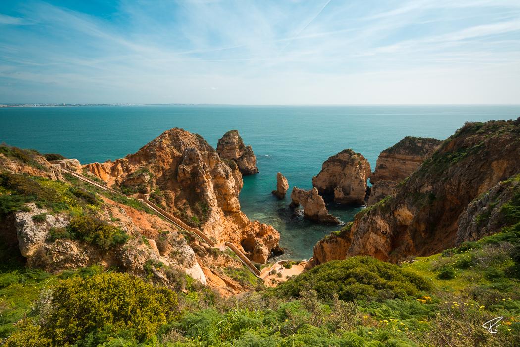Ponta da Piedade Algarve Portugal
