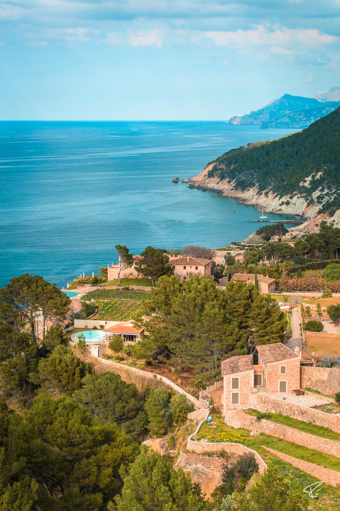Serra de Tramuntana Banyalbufar Mallorca