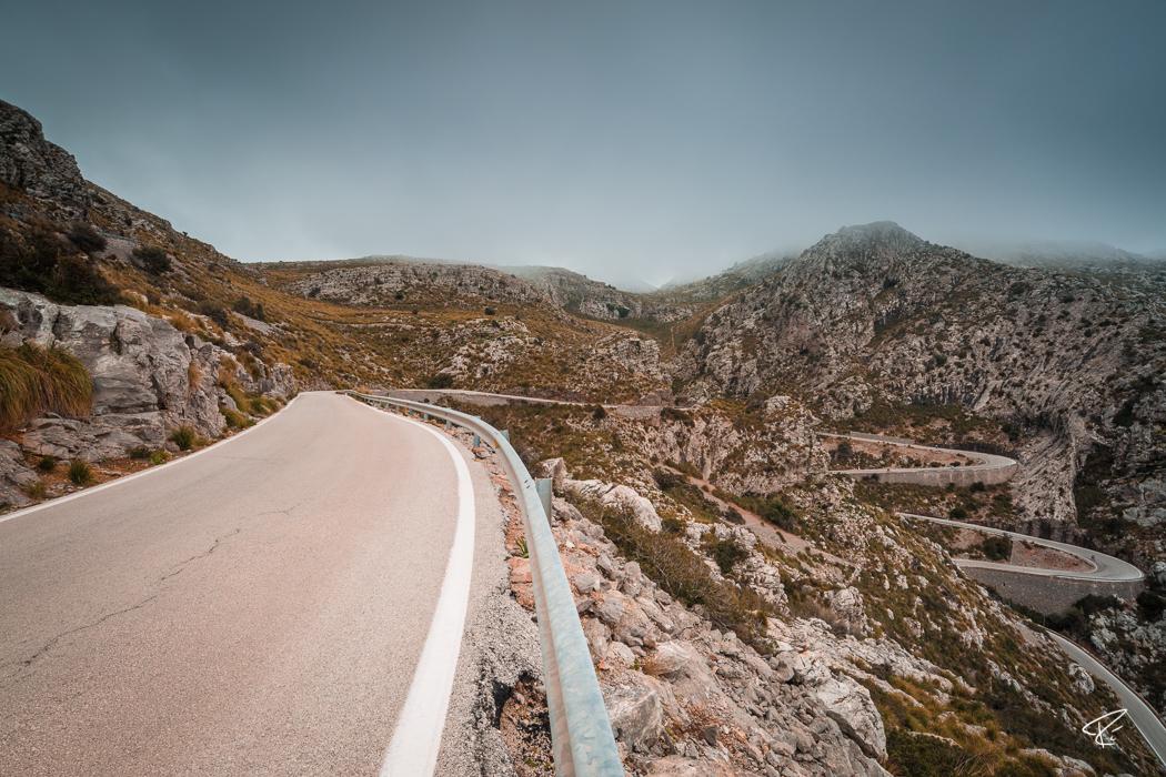 Serra de Tramuntana Sa Calobra Mallorca