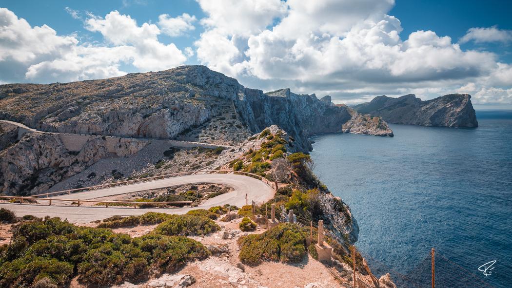 Serra de Tramuntana Cap de Formentor Mallorca