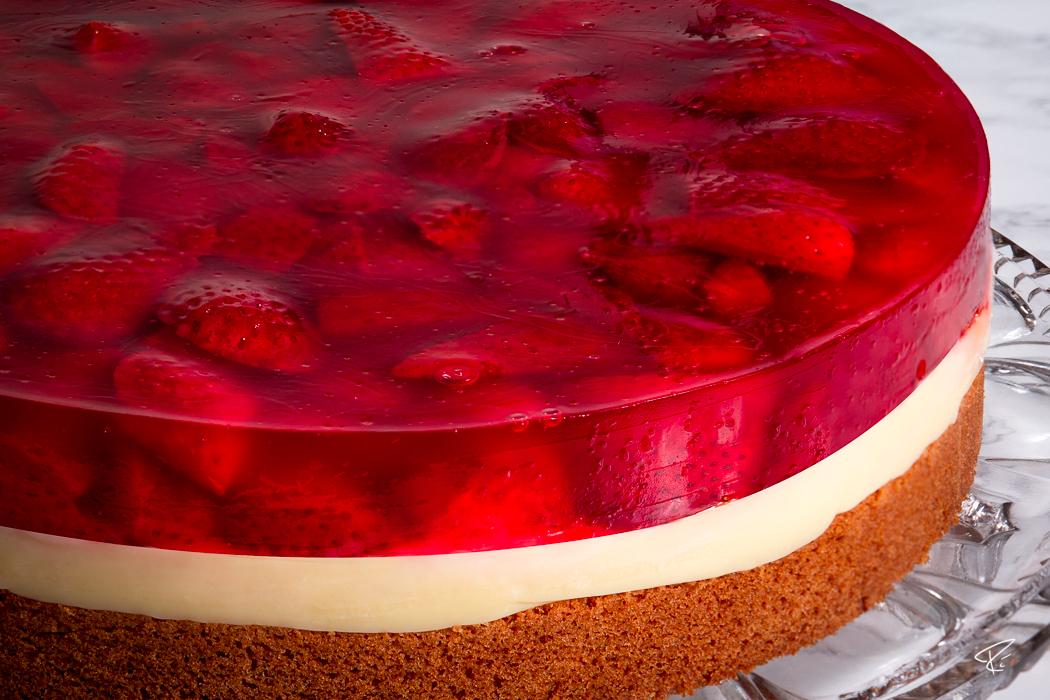 Strawberry Pie Recipe Erdbeerkuchen Rezept