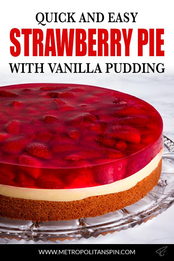 Strawberry Pie Pinterest Cover