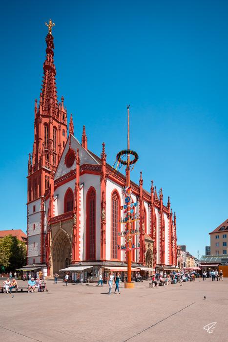 Würzburg Bayern Marienkapelle