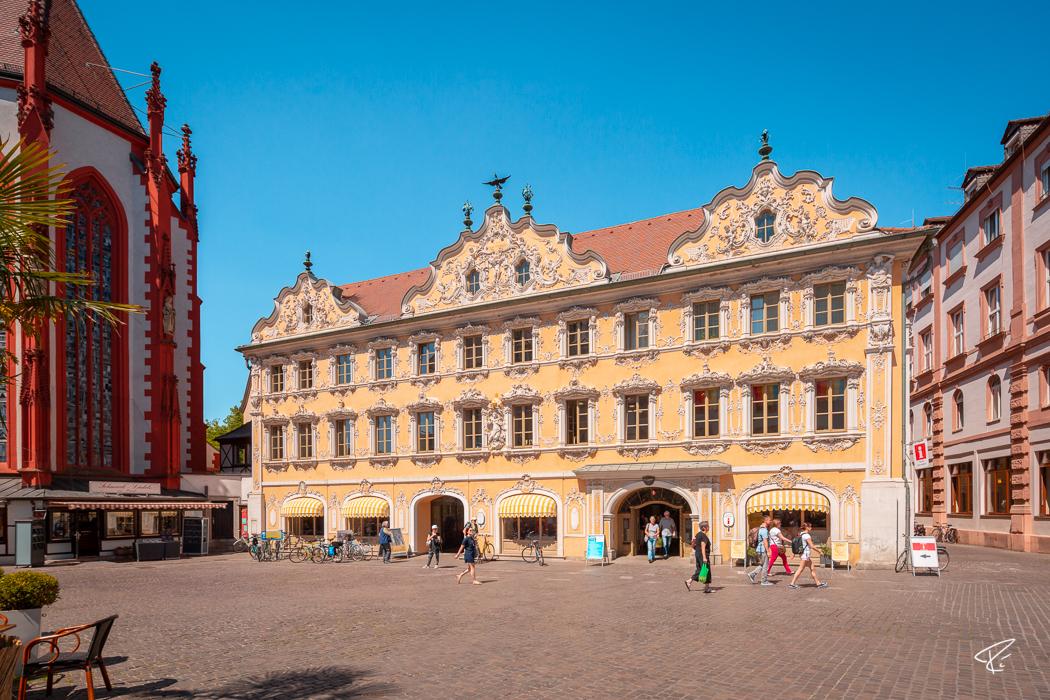 Würzburg Bayern Falkenhaus